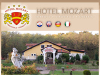 Frontpage screenshot for site: Hotel Mozart, Virovitica (http://www.hotelmozart.hr/)