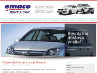 Slika naslovnice sjedišta: Emaco rent-a-car (http://www.emaco.hr/)