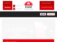 Frontpage screenshot for site: Vidik d.o.o. (http://www.vidik.hr/)