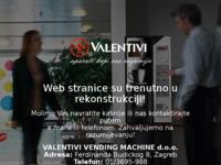 Slika naslovnice sjedišta: Valentivi (http://www.valentivi.hr)