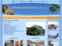Frontpage screenshot for site: Apartmani Grgurić, Rab, Hrvatska (http://www.rabapartmani.com/)