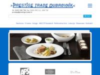 Slika naslovnice sjedišta: Prestige trade Dubrovnik (http://www.prestige-trade.hr/)