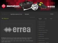 Slika naslovnice sjedišta: MC Malcom - maloprodaja i veleprodaja sportske opreme (http://www.mc-malcom.hr)