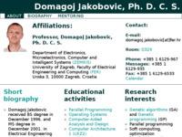 Frontpage screenshot for site: Yetijeva Jazbina (http://www.zemris.fer.hr/~yeti)
