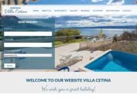 Frontpage screenshot for site: Apartmani Villa Cetina (http://www.apartments-villa-cetina-omis.com)