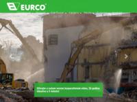 Frontpage screenshot for site: Eurco d.d. (http://www.eurco.hr)