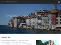 Slika naslovnice sjedišta: Privatni smještaj Villa Marija, Rovinj, Istra (http://www.villamarija.com/)