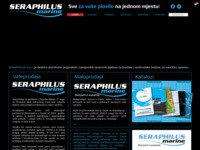Frontpage screenshot for site: (http://www.seraphilus.hr)