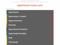 Frontpage screenshot for site: Apartmani Luma (http://www.apartmani-luma.com)