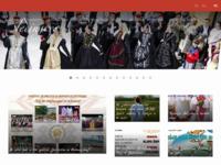 Frontpage screenshot for site: KUD Jedinstvo (http://www.kud-jedinstvo.hr/)