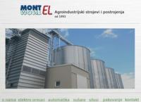 Frontpage screenshot for site: Montel - industrijski strojevi i postrojenja (http://www.montel.hr)