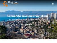 Frontpage screenshot for site: Dogma nekretnine, d.o.o. (http://www.dogma.hr)