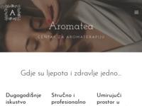 Slika naslovnice sjedišta: Aromatea (http://www.aromatea.hr/)
