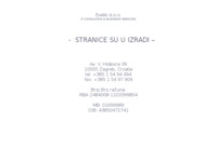 Frontpage screenshot for site: Evello (http://www.evello.hr)