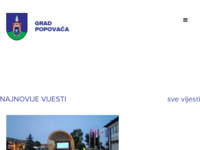 Slika naslovnice sjedišta: Službene stranice općine Popovača (http://www.popovaca.hr/)