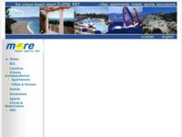 Frontpage screenshot for site: Turistička agencija More Bol (http://www.more-bol.com)