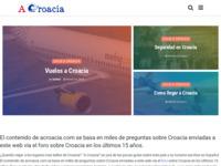 Frontpage screenshot for site: Croacia (http://www.sobrecroacia.com)