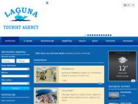 Frontpage screenshot for site: Laguna Primošten (http://www.laguna-primosten.hr/)