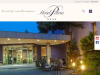 Frontpage screenshot for site: Hotel Patria Beli Manastir (http://www.hotelpatria.hr)