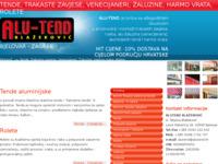 Slika naslovnice sjedišta: Alu-tend (http://www.alutend.hr/)