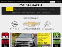 Slika naslovnice sjedišta: P.S.C. Dalmacija (http://www.psc-dalmacija.hr/)