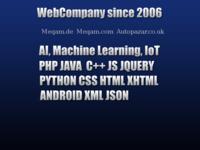 Slika naslovnice sjedišta: Web Company (http://www.web-company.info)