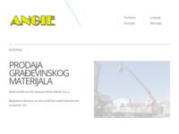 Slika naslovnice sjedišta: Angie d.o.o. prodaja građevinskog materijala (http://www.angie.hr)