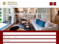 Frontpage screenshot for site: Biliškov Nekretnine d.o.o, Split (http://www.biliskov.com/)