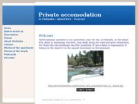 Frontpage screenshot for site: Apartman u Malinskoj (http://www.freewebs.com/kvarner_krk_malinska/)