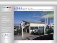 Frontpage screenshot for site: Vebra proizvodnja Krk (http://www.vebra.hr/)
