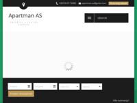 Frontpage screenshot for site: Apartman As Zagreb (http://www.apartman-as.com/)