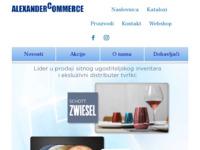 Slika naslovnice sjedišta: Alexander Commerce (http://www.alexandercommerce.hr/)