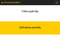 Frontpage screenshot for site: Stanoinvest, Pula (http://www.stanoinvest.biz/)