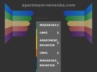 Frontpage screenshot for site: Apartmani Nevenka - Sumpetar (http://www.apartmani-nevenka.com)