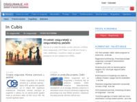 Slika naslovnice sjedišta: Informatika u osiguranju, osiguranje (http://www.osiguranje.com)