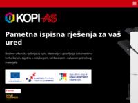 Slika naslovnice sjedišta: Kopi - As  d.o.o. (http://www.kopias.hr)