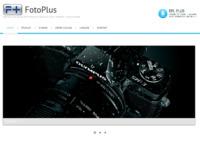Frontpage screenshot for site: Foto plus (http://www.foto-plus.hr)