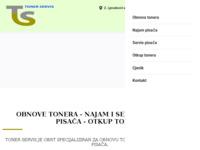 Frontpage screenshot for site: Toner servis (http://www.tonerservis.hr/)