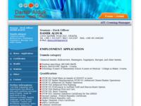 Frontpage screenshot for site: Pomorac Damir Alduk (http://www.inet.hr/~daalduk/)