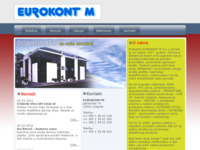 Frontpage screenshot for site: Eurokont M (http://www.eurokont-m.hr/)