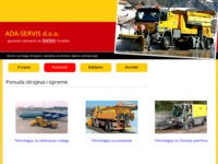 Slika naslovnice sjedišta: Ada-servis d.o.o. (http://www.ada-servis.hr)
