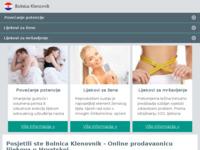 Slika naslovnice sjedišta: Bolnica za plućne bolesti i TBC Klenovnik (http://www.bolnica-klenovnik.hr/)