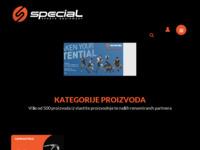 Slika naslovnice sjedišta: Special (http://www.special.hr/)
