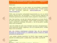 Frontpage screenshot for site: Apartmani na otoku Braču (http://www.otokbrac.com/noviapartmaji/)