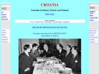 Frontpage screenshot for site: An Overview of the Croatian History, Culture and Science (http://www.croatianhistory.net)