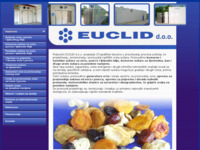 Frontpage screenshot for site: Euclid d.o.o (http://www.euclid.hr)