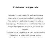 Slika naslovnice sjedišta: Hrvatski portal u Švicarskoj (http://www.hrvati.ch/)