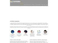 Slika naslovnice sjedišta: Infokatedra - Centar za obrazovanje (http://www.infokatedra.hr/)