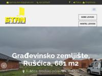 Frontpage screenshot for site: Stan Slavonski Brod (http://www.agencijastan.hr)