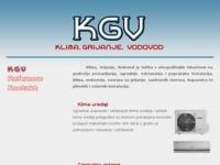 Frontpage screenshot for site: Klima Grijanje Vodovod (http://www.kgv.hr)